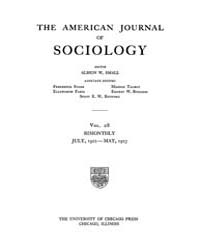 American Journal of Sociology : 1922 Vol... Volume Vol. 28 by Abbott, Andrew