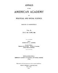 Annals of the American Academy of Politi... Volume Vol. 2 by Wood, Emily