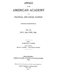 Annals of the American Academy of Politi... Volume Vol. 3 by Wood, Emily
