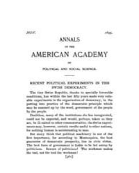 Annals of the American Academy of Politi... Volume Vol. 6 by Wood, Emily