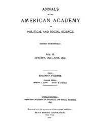 Annals of the American Academy of Politi... Volume Vol. 9 by Wood, Emily