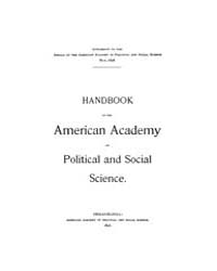 Annals of the American Academy of Politi... Volume Vol. 11 by Wood, Emily