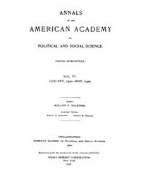 Annals of the American Academy of Politi... Volume Vol. 15 by Wood, Emily