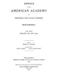 Annals of the American Academy of Politi... Volume Vol. 17 by Wood, Emily