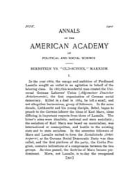 Annals of the American Academy of Politi... Volume Vol. 18 by Wood, Emily