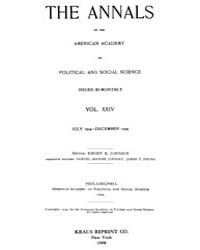 Annals of the American Academy of Politi... Volume Vol. 24 by Wood, Emily