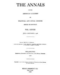 Annals of the American Academy of Politi... Volume Vol. 28 by Wood, Emily