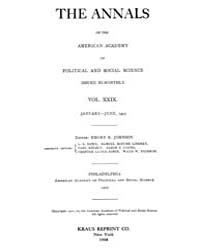 Annals of the American Academy of Politi... Volume Vol. 29 by Wood, Emily