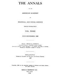 Annals of the American Academy of Politi... Volume Vol. 32 by Wood, Emily