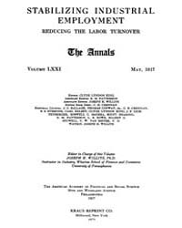 Annals of the American Academy of Politi... Volume Vol. 71 by Wood, Emily