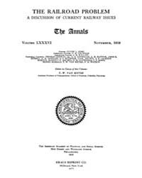 Annals of the American Academy of Politi... Volume Vol. 86 by Wood, Emily