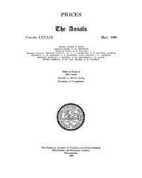 Annals of the American Academy of Politi... Volume Vol. 89 by Wood, Emily