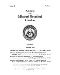 Annals of the Missouri Botanical Garden ... Volume Vol. 3 by