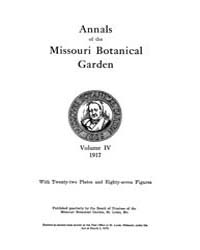 Annals of the Missouri Botanical Garden ... Volume Vol. 4 by