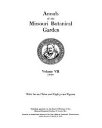 Annals of the Missouri Botanical Garden ... Volume Vol. 7 by