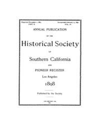 Annual Publication of the Historical Soc... Volume Vol. 4 by Pioneers of Los Angeless Country