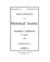 Annual Publication of the Historical Soc... Volume Vol. 3 by Pioneers of Los Angeless Country