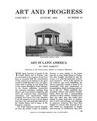 Art and Progress : 1910 Aug No. 10 Vol. ... Volume Vol. 1 by
