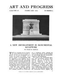 Art and Progress : 1911 Feb No. 4 Vol. 2 Volume Vol. 2 by