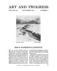 Art and Progress : 1911 Nov No. 1 Vol. 3 Volume Vol. 3 by