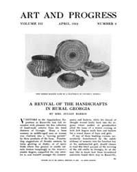 Art and Progress : 1912 Apr No. 6 Vol. 3 Volume Vol. 3 by