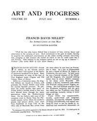 Art and Progress : 1912 Jul No. 9 Vol. 3 Volume Vol. 3 by