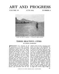 Art and Progress : 1912 Jun No. 8 Vol. 3 Volume Vol. 3 by