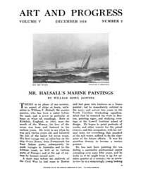 Art and Progress : 1913 Dec No. 2 Vol. 5 Volume Vol. 5 by