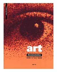 Art Documentation Journal of the Art Lib... Volume Vol. 30 by