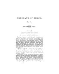 The Advocate of Peace (1837-1845) : 1837... Volume Vol. 1 by Denton, James, S.