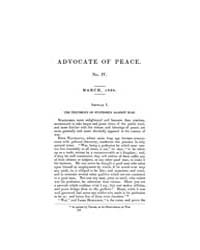 The Advocate of Peace (1837-1845) : 1838... Volume Vol. 1 by Denton, James, S.