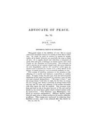 The Advocate of Peace (1837-1845) : 1838... Volume Vol. 2 by Denton, James, S.