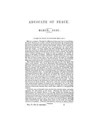 The Advocate of Peace (1837-1845) : 1843... Volume Vol. 5 by Denton, James, S.