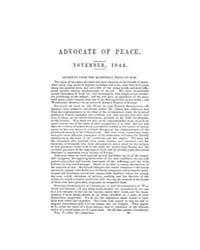 The Advocate of Peace (1837-1845) : 1844... Volume Vol. 5 by Denton, James, S.
