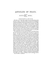 The Advocate of Peace (1837-1845) : 1845... Volume Vol. 6 by Denton, James, S.