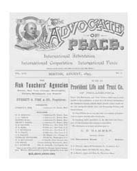 The Advocate of Peace (1894-1920) : 1895... Volume Vol. 57 by