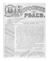 The Advocate of Peace (1894-1920) : 1896... Volume Vol. 58 by