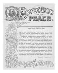 The Advocate of Peace (1894-1920) : 1897... Volume Vol. 59 by