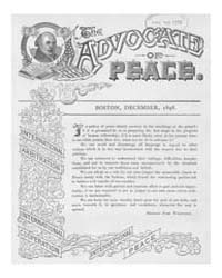 The Advocate of Peace (1894-1920) : 1898... Volume Vol. 60 by