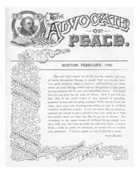 The Advocate of Peace (1894-1920) : 1900... Volume Vol. 62 by