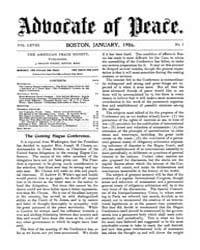 The Advocate of Peace (1894-1920) : 1906... Volume Vol. 68 by