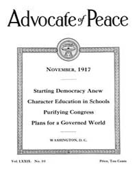 The Advocate of Peace (1894-1920) : 1917... Volume Vol. 79 by