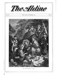 The Aldine : 1871 Vol. 4 No. 11 Nov Volume Vol. 4 by