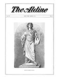 The Aldine : 1871 Vol. 4 No. 3 Mar Volume Vol. 4 by