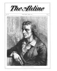 The Aldine : 1871 Vol. 4 No. 4 Apr Volume Vol. 4 by
