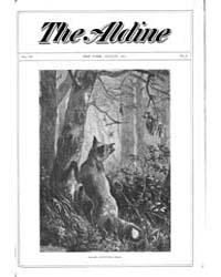 The Aldine : 1871 Vol. 4 No. 8 Aug Volume Vol. 4 by