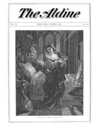 The Aldine : 1873 Vol. 6 No. 10 Oct Volume Vol. 6 by