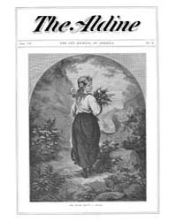 The Aldine : 1874 Vol. 7 No. 8 Aug Volume Vol. 7 by