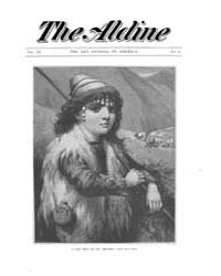 The Aldine : 1879 Vol. 9 No. 8 Volume Vol. 9 by