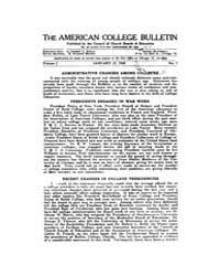 The American College Bulletin : 1918 Vol... Volume Vol. 1 by Roberts, William, C.